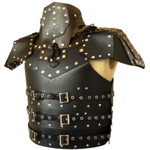 Real Leather Medieval Armour Re-enactment Theatrical LARP-LPAF-017