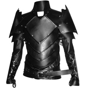 Real Leather Medieval Fantasy Dragon-Age Fenris Style Armour-LPAF-020
