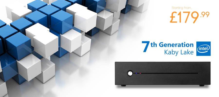 7th Gen. Intel� Kaby Lake 2.90GHz Ultra-Slim HD 610 Mini PC