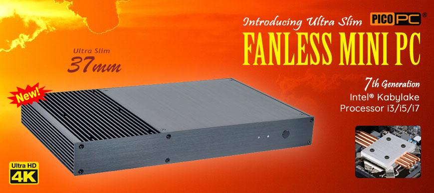 PICOPC FANLESS MINI PC Series