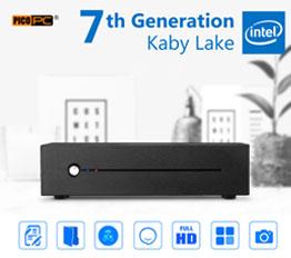 7th Gen Intel® Kaby Lake 3.5GHz HDMI Mini ITX HD 610 Mini PC