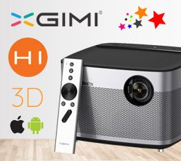 XGIMI H1 Smart Home Theater 4K 300'' 3D Smart Projector | PRHO-015