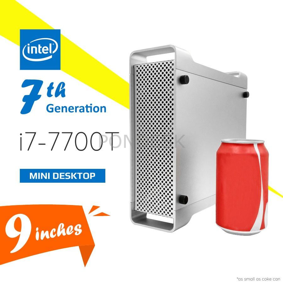 7th Gen Intel® i7-7700T Kaby Lake 3.8GHz HD 630 Mini Desktop
