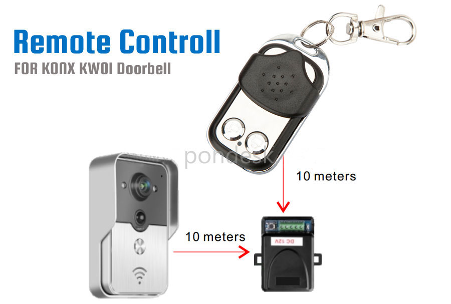 KONX KW01 Doorbell Remote Control - ELEL-001 | Image