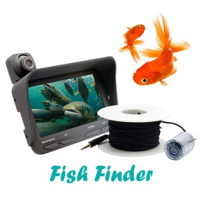 20m Fish Finder Night Vision Live Fishing Camera With LCD