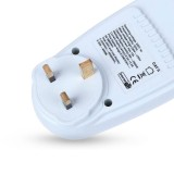 13A UK Plug Electricity Power Consumption Meter Socket-INBI-002