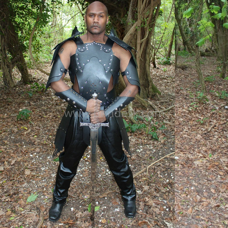 Real Leather Medieval Viking Re-Enactment Armour LARP SCA