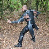 Real Leather Medieval Viking Re-Enactment Armour LARP SCA-LPAF-001