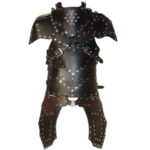 Real Leather Medieval Re-enactment Theatrical Armor LARP-LPAF-010