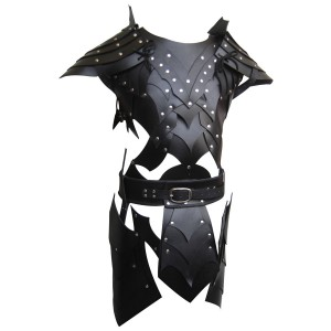 Real Leather Medieval Fantasy Style Game of Thrones Armour-LPAF-025