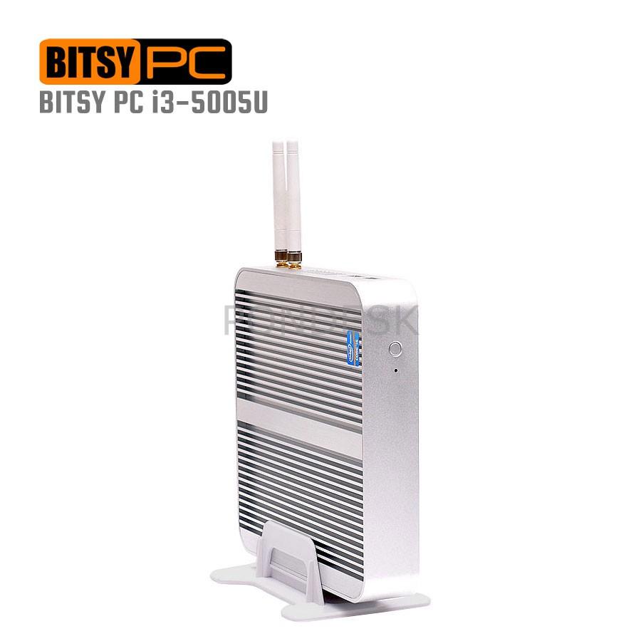 5th Gen. Intel i3-5005U WiFi HD 5500 2.0GHz Fanless Mini PC