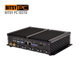 Intel Celeron 1037U HD 1.80GHz Industrial Fanless Mini PC