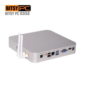 Intel N3150 Quad Core 2.08GHz HD WiFi HDMI Fanless Mini PC-MNHO-008