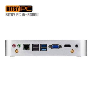 6th Gen. Intel Core i5-6300U 3.0GHz WiFi HD 520 HDMI Mini PC