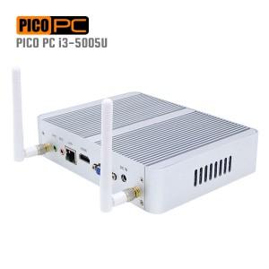 5th Gen. Intel i3-5005U HD 5500 WiFi 2GHz Fanless Mini PC