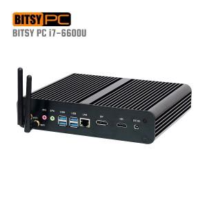 6th Gen. Intel I7-6600U HD 520 WiFi 3.40GHz Fanless Mini PC