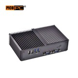 Intel® i3-4005U WiFi 4G 6COM 2LAN Fanless Industrial Mini PC-MNHO-061