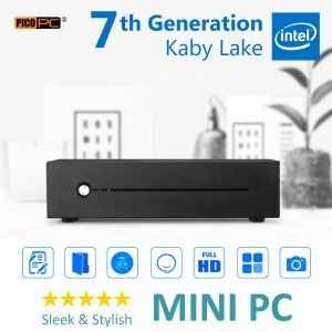 7th Gen. Intel® Kaby Lake 2.90GHz Ultra-Slim HD 610 Mini PC-MNHO-062