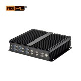 Intel Quad-Core 3 Display 10 COM 2 LAN Fanless Industrial PC-MNHO-064