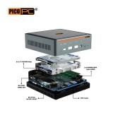 10th Gen. Intel® i5-10210U 2 LAN 2.5GbE 3 Display Mini PC With Windows 10 Pro.-MNHO-066