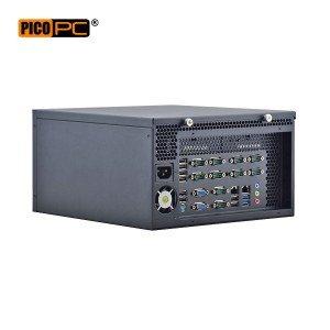 Intel® Haswell i3/i5/i7 HD 10 COM 2 LAN Industrial Computer-MNHO-071