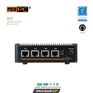 Intel® E3845 4 LAN 1 COM AES-NI 4G Fanless Firewall Router-MNHO-073