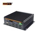 Intel® 3865U 2 LAN 10 COM GPIO Fanless Industrial Mini PC-MNHO-081
