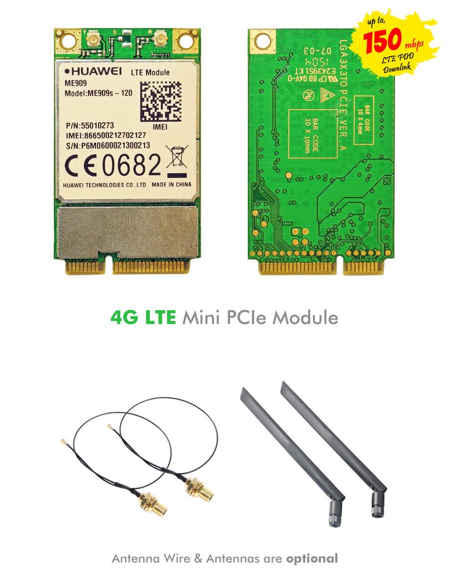 Huawei ME909s-120 Mini PCIe 4G LTE WWAN Module - NWEL-004 | Image