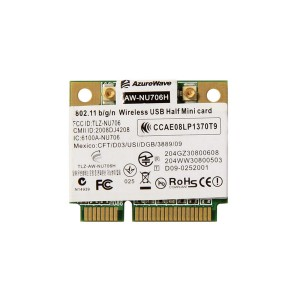AW-NU706H RT3070L Wireless 802.11 b/g/n WiFi Mini PCIe Card