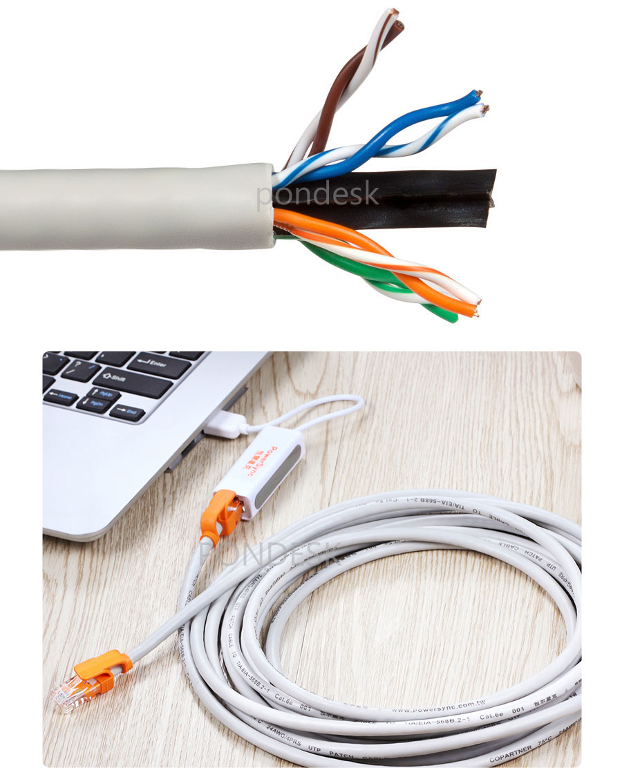 5M High Speed UTP 4 Pair RJ45 Cat6e Gigabit Ethernet Cable - OCEL-001 | Image