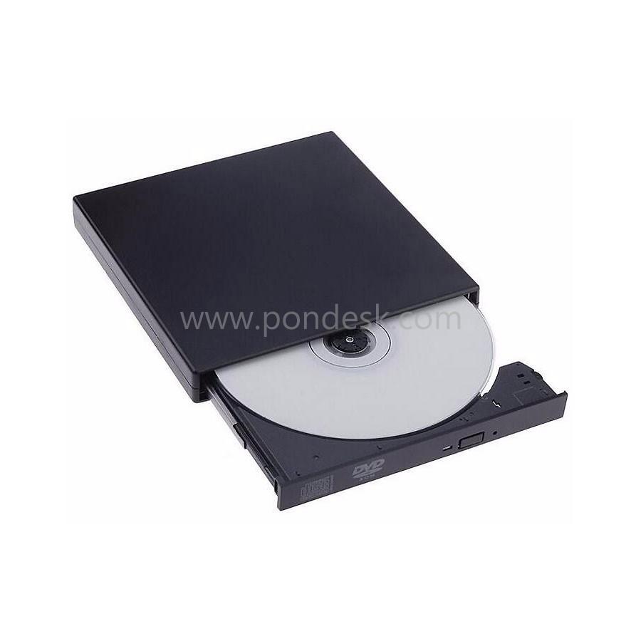 External Portable USB2.0 DVD Combo Player CD-RW Burner Drive