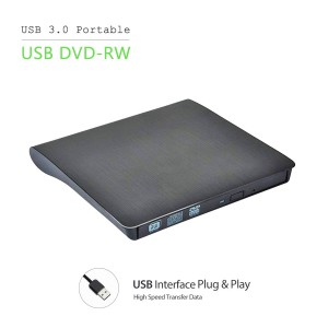 External Portable USB3.0 DVD Combo Player CD-RW Burner Drive