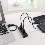 UNITEK High Speed 4 Ports USB 3.0 HUB Splitter with Cable-ORHO-010