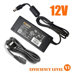 DOE Level VI 12V 5A 60W Switching Desktop AC Power Adapter-PSEL-006