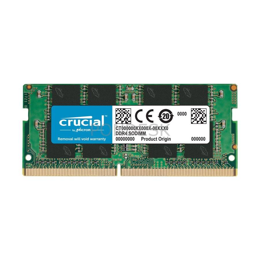 Crucial 8GB DDR4-2133MHz SODIMM Memory - CT8G4SFD8213