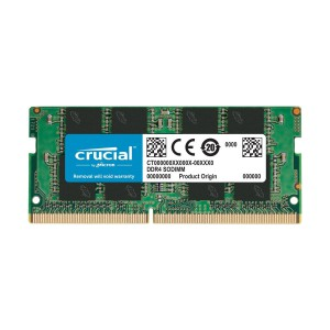 Crucial 16GB Single DDR4-2133MHz SODIMM Memory CT16G4SFD8213