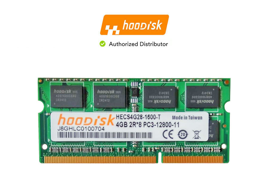 Hoodisk SODIMM DDR3L 1600MHz PC3L 1.35V 4GB Memory - RMHO-019 | Image