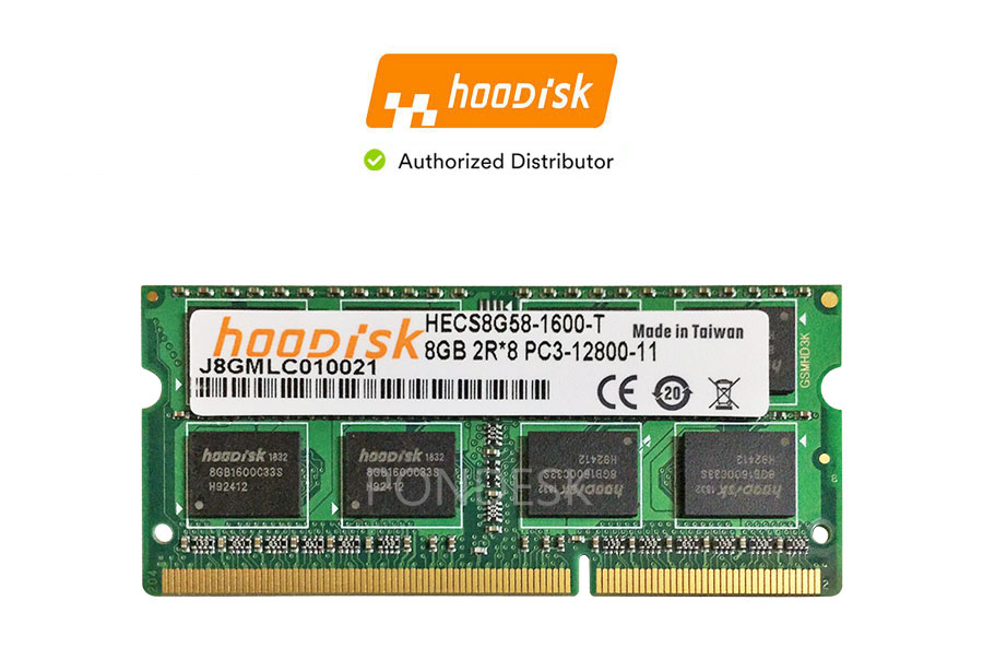 Hoodisk SODIMM DDR3L 1600MHz PC3L 1.35V 8GB Memory - RMHO-020 | Image