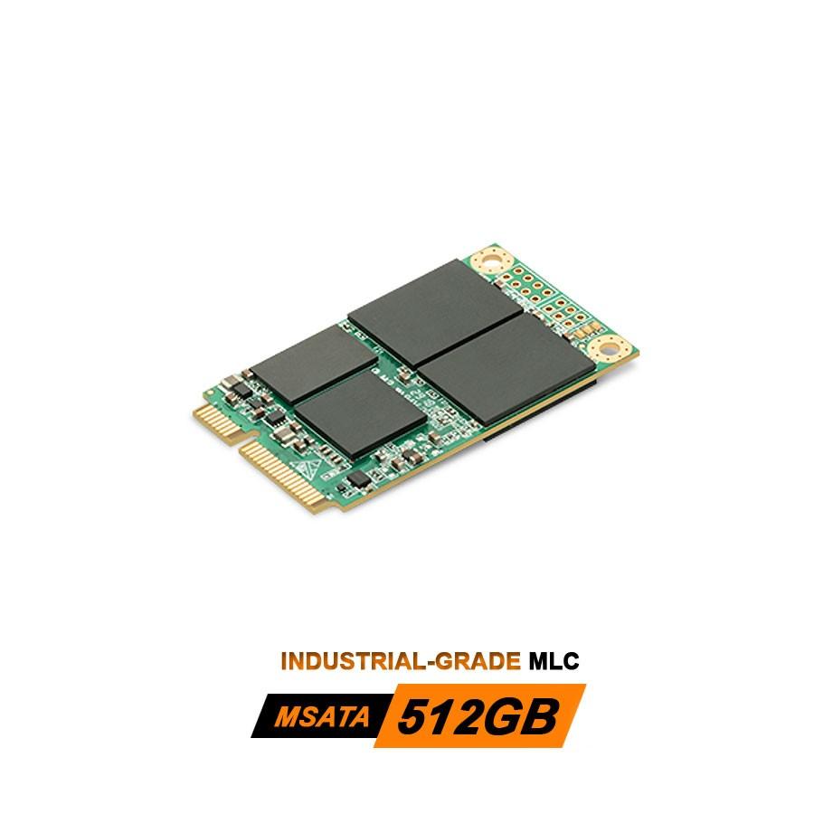 Industrial-Grade MLC 512GB mSATA3.0 SSD Solid State Drive